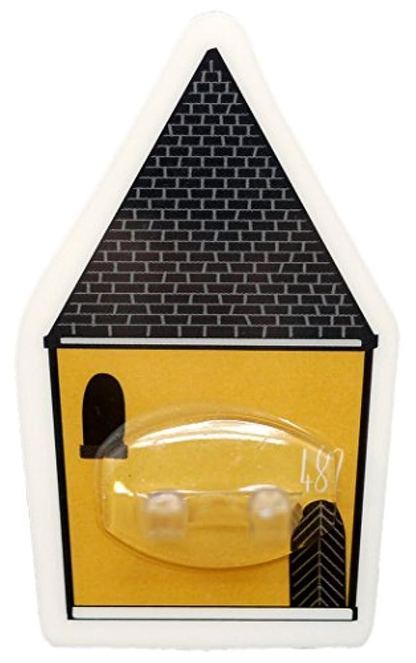 うねる乳製品弱いPALAS & DECORE LUONNOS Nordis(ノルディス) マジックシートフック ハブラシホルダー ハウスイエロー NRD-10 C