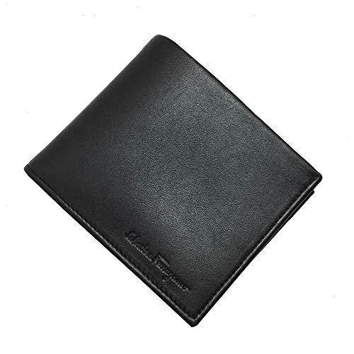 [フェラガモ] 66 0639 0665921 財布 二つ折り財布 Salvatore Ferragamo NERO CALF メンズ 二つ折り 財布 ブラック[並行輸入品]