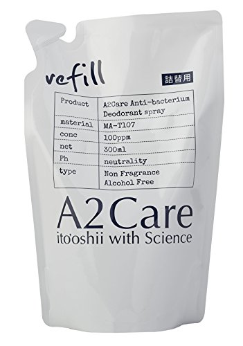 A2Care エーツーケア 除菌 消臭剤 300ml 詰替用 1A2-A002...