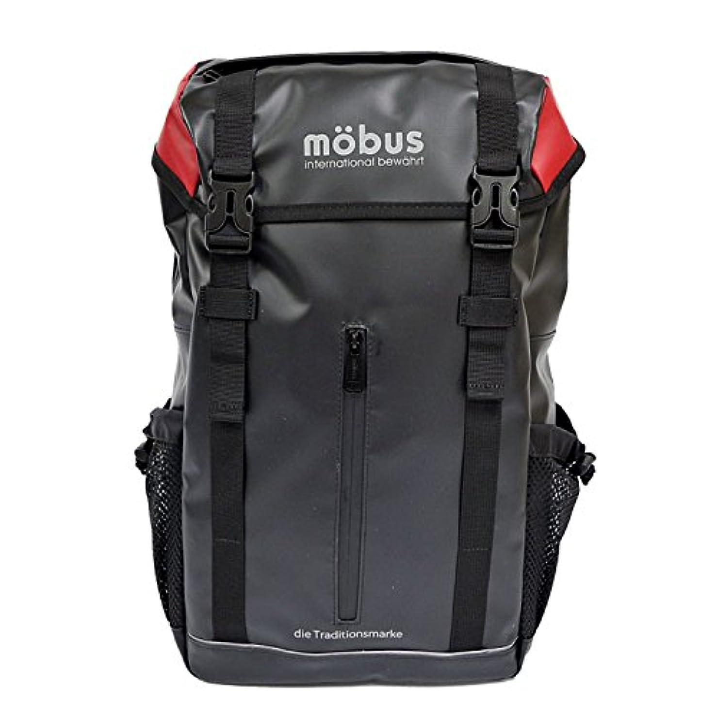 同盟余暇折る[モーブス] MOBUS リュック バックパック リュック メンズ レディース フラップ mo-024 リュックサック 通学 通勤 大容量 かぶせ PC パソコン A4 黒 ターポリン 防水 撥水