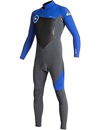 クイックシルバー スイムウェア スイムウェア 3/2 Syncro Back Zip GBS Wetsuit - Men's Gun Metal/[並行輸入品]