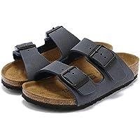 キッズサンダル ジュニア 子供用 ビルケンシュトック BIRKENSTOCK ARIZONA アリゾナ 16.5-22.0cm 男の子 女の子 子供靴 幅狭 ナロウ 2本ベルト 正規品 /Kids-ARIZONA