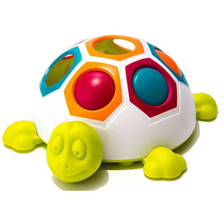 ファット ブレイン トイズ ポップ アンド スライド シェリー 正規品 【知育玩具 幼児 赤ちゃん】 Fat Brain Toys Pop & Slide Shelly FA123-1