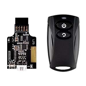Silver Stone 電源&リセットスイッチ無線リモコン化キット SST-ES02-USB