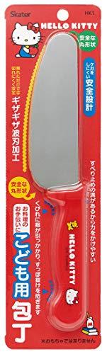 スケーター 子供向け包丁 子ども用 包丁 12cm ハローキティ サンリオ 刃渡り12cm HK1