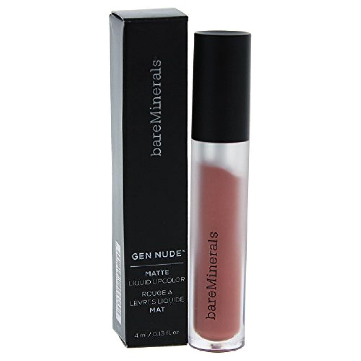 広い不条理アクティビティベアミネラル Gen Nude Matte Liquid Lipcolor - Infamous 4ml/0.13oz並行輸入品