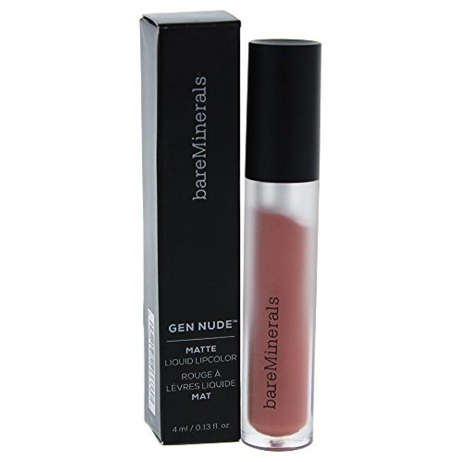 特別に証言気晴らしベアミネラル Gen Nude Matte Liquid Lipcolor - Infamous 4ml/0.13oz並行輸入品