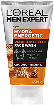 L'Oréal Paris Men Expert Hydra Energetic Wake Up Face Wash For Men, with Vitamin C and Guarana, 1