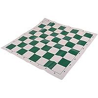 Fenteer ポータブル 折り畳み式 チェスボード チェッカーボード チェス盤 ボードゲーム アクセサリー