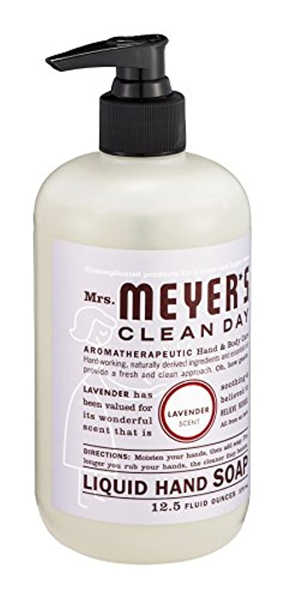 雄弁絵パスMrs. Meyer's Clean Day Liquid Hand Soap, Lavender, 12.5-Ounce Bottles (Case of 6) by Mrs. Meyer's Clean Day