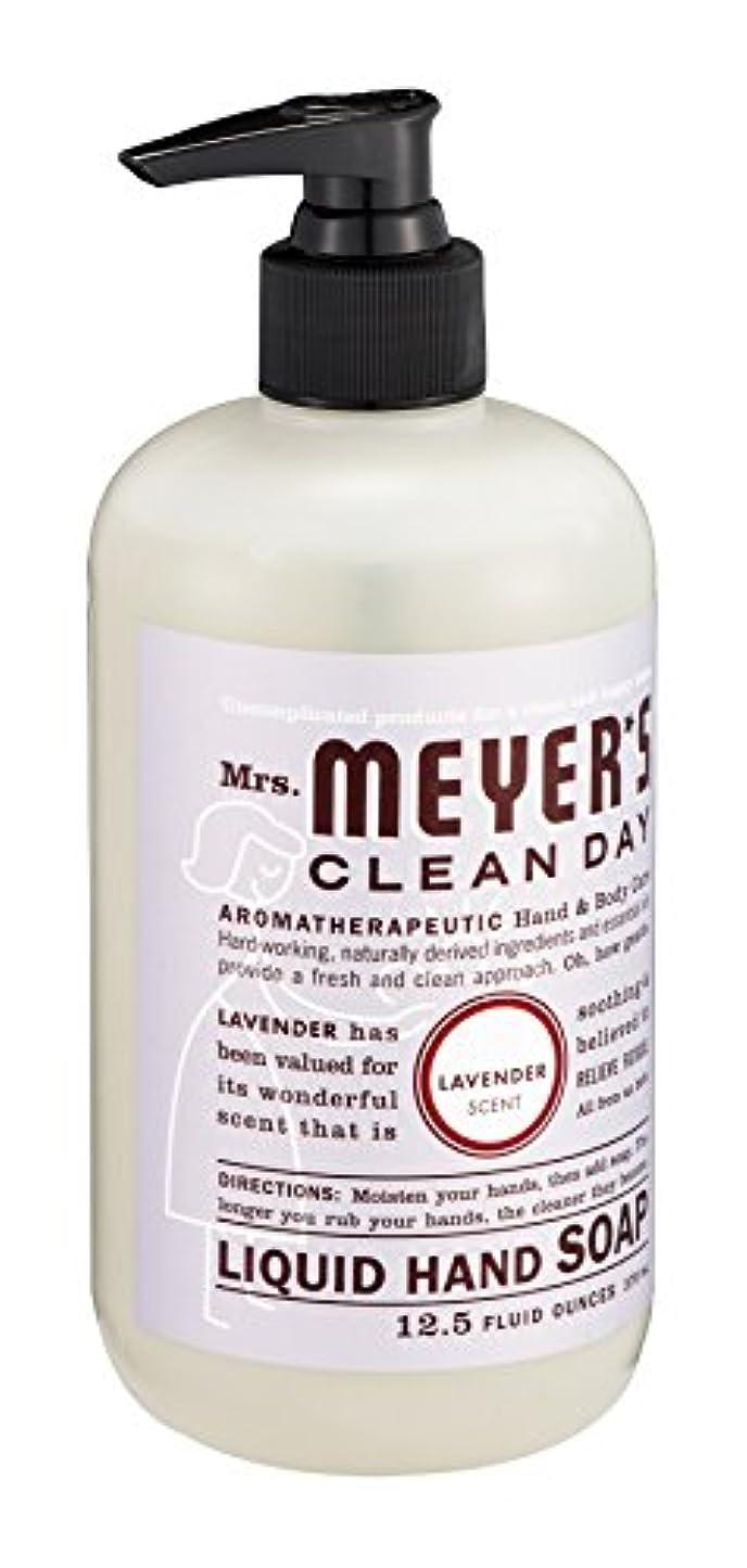バリア排出地元Mrs. Meyer's Clean Day Liquid Hand Soap, Lavender, 12.5-Ounce Bottles (Case of 6) by Mrs. Meyer's Clean Day