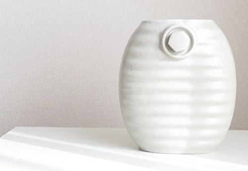 陶器湯たんぽ 13代目加藤さん作る湯たんぽ (オーガニックホワイト)
