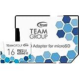 Team microSDHCカード 16GB 高速転送UHS-1 日本国内10年保証 SD変換アダプター付属 正規品