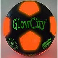 Light Up LED Soccer Ball Black Limited Edition [並行輸入品]