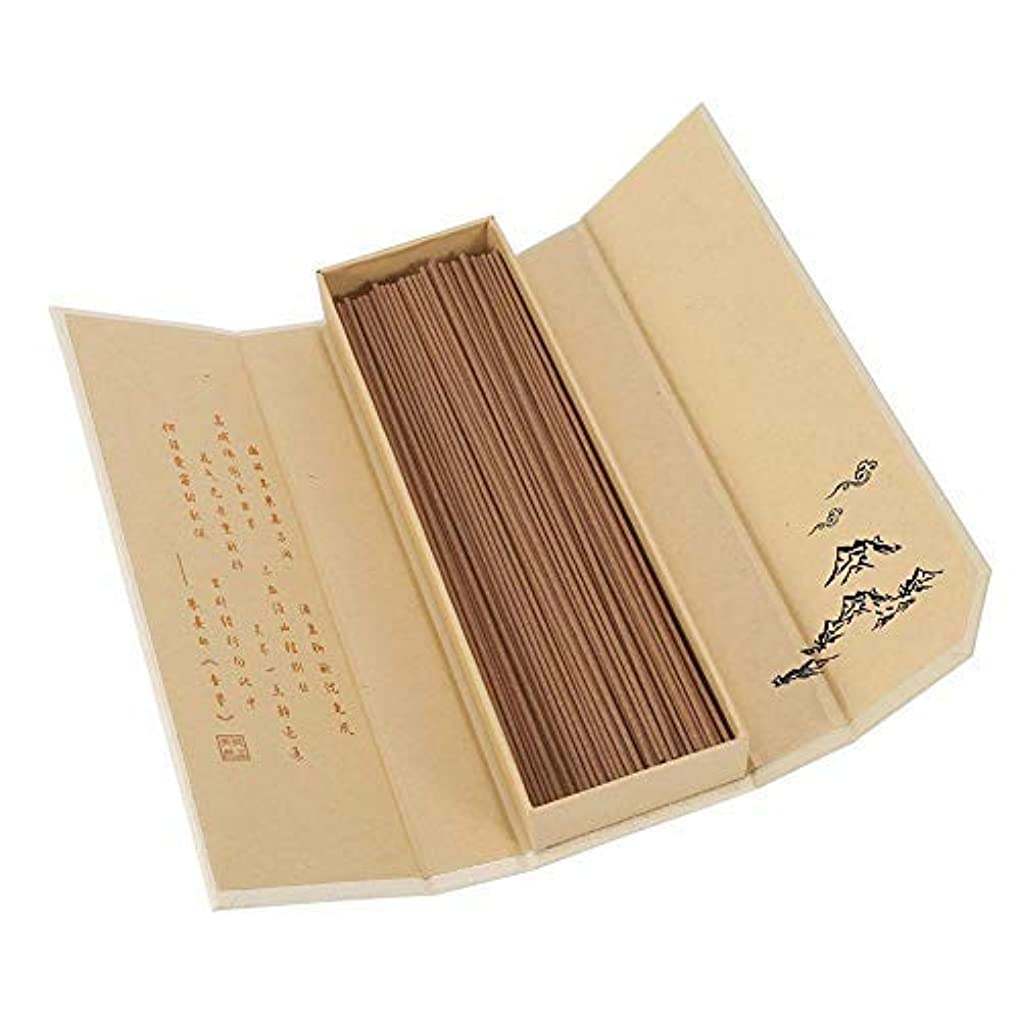 メロディアス資格財政Zerodis 180pcs/pack Natural Sandalwood Incense Buddhist Aroma Non-Toxic Incense Sticks for Household SPA Bathroom...