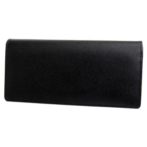 ユナイテッドオム United HOMME 二つ折り長財布 ブラック ホースハイドコードバン×カウハイド UH-16861