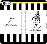 iPhone/Xperia/Galaxy/他機種選択可:サッカー/グラフィティ手帳ケース(デザイン:ユベントス/7番_01) 09 iPhone X