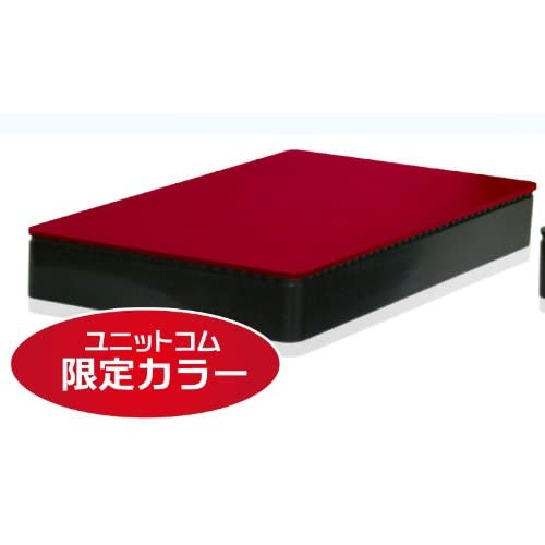 aiuto MV-NAS25U3-RE レッド スマートフォン・タブレット・PC対応ネットワークHDD(NAS)ケース