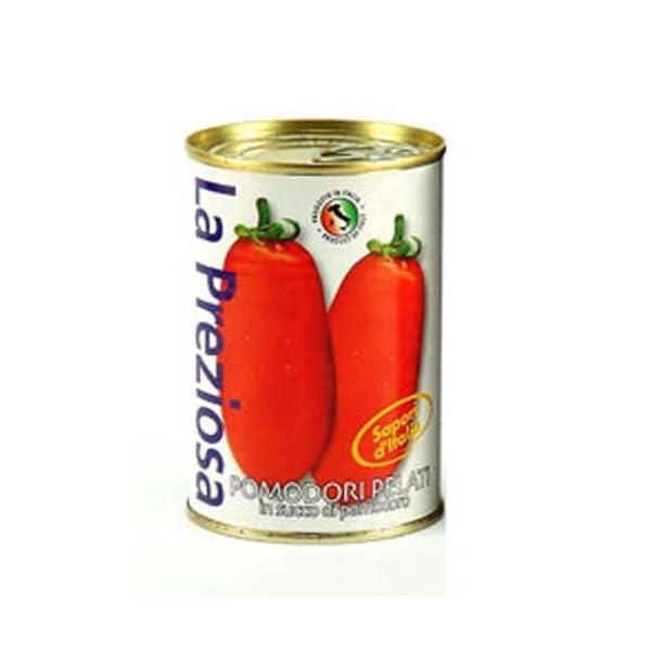 ラ・プレッツィオーザ ホールトマト缶 400g×24個の商品画像