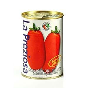 ラ・プレッツィオーザ ホールトマト缶 400g×24個