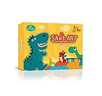 NO Mess - サンドアートとクラフトアクティビティキット Dinosaur Kit