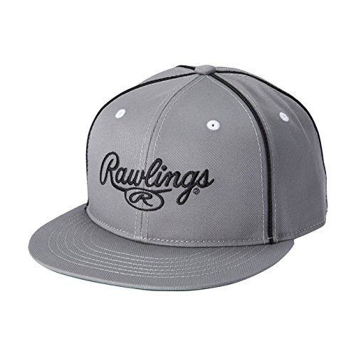 Rawlings(ローリングス) フラットバイザーコットンキャップ AAC8S05 グレー F(フリー)