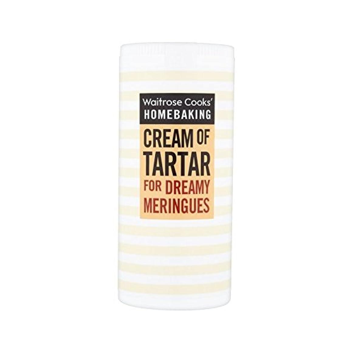 なしで話能力歯石ウェイトローズの140グラムのクリーム (Cooks' Ingredients) (x 6) - Cooks' Ingredients Cream Of Tartar Waitrose 140g (Pack of 6)