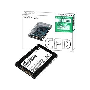 CFD S6ONCG2Vシリーズ 2.5inch SATA6Gb/s 512GB CSSD-S6O512NCG2V