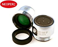 Neoperl Faucet Aerator Water saving Dual Threaded/ Aerated Stream 1.5 gpm -WaterSense by New Resources Group