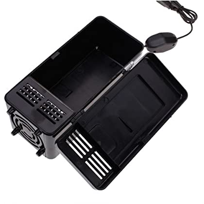 【ノーブランド品】黒色 USB ミニ 冷蔵庫