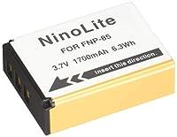 NinoLite NP-85 互換 バッテリー  Fuji フジ FinePix S1 / SL300 / SL1000 対応 np85_t.k.gai