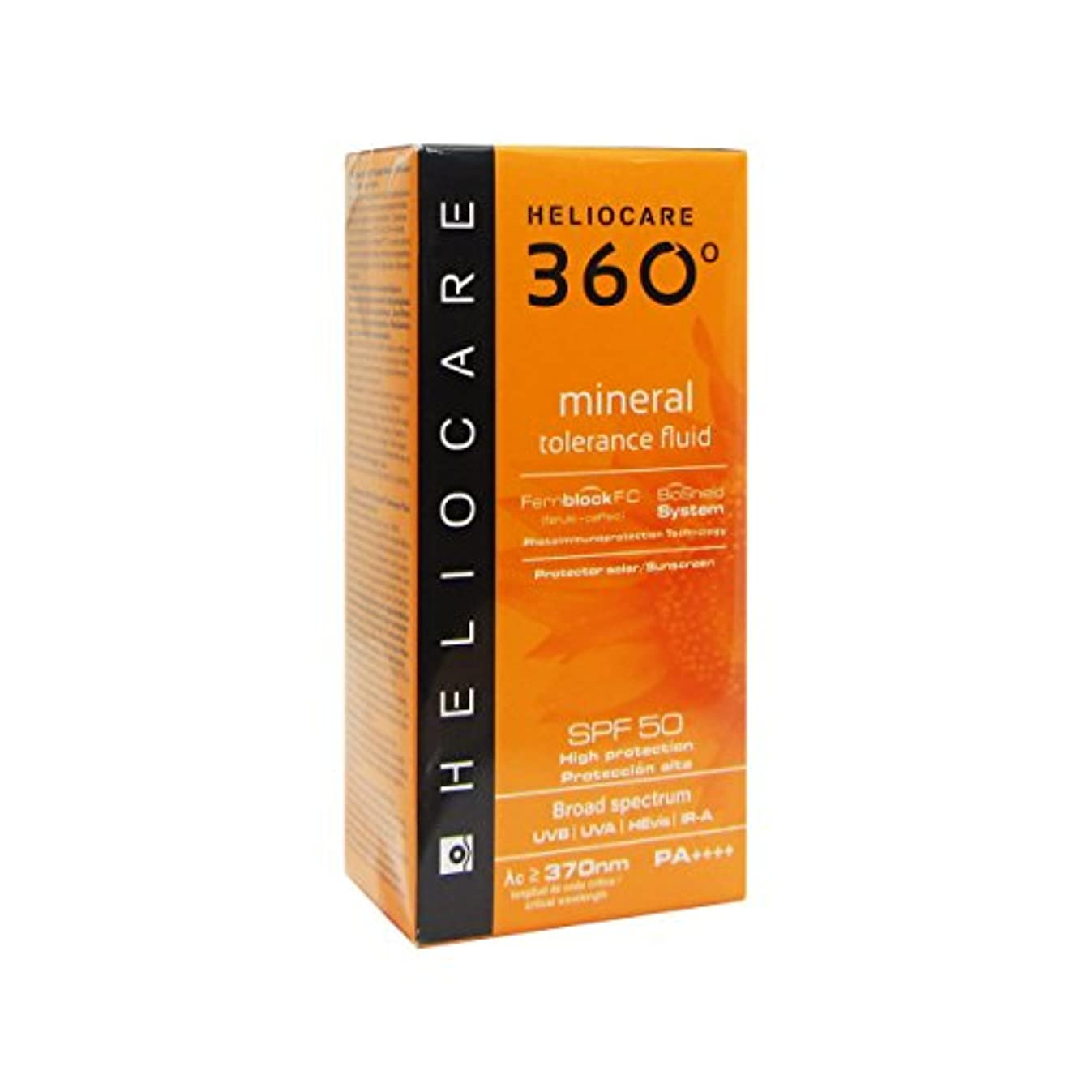 欠陥放棄手入れHeliocare 360 Mineral Tolerance Fluid Spf50 50ml [並行輸入品]