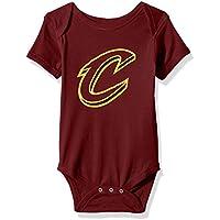 NBA by Outerstuff NBA Newborn & Infant Primary Logo Short Sleeve Bodysuit