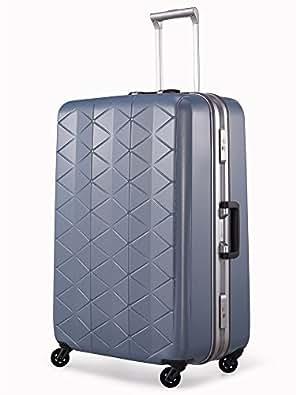 [サンコー] SUPERLIGHTS MGC スーツケース スーパーライト 軽量 大型  抗菌ハンドル マグネシウムフレーム 容量93L 縦サイズ74cm 重量4.2kg MGC1-69 エンボスアイスブルー