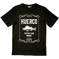 Huerco フエルコクラックパーチTシャツ(ブラック)