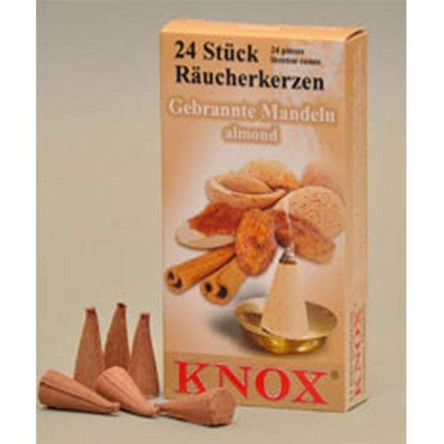 いまタックルアジテーションKnoxアーモンド香りGerman Incense Conesドイツ製forクリスマスSmokers