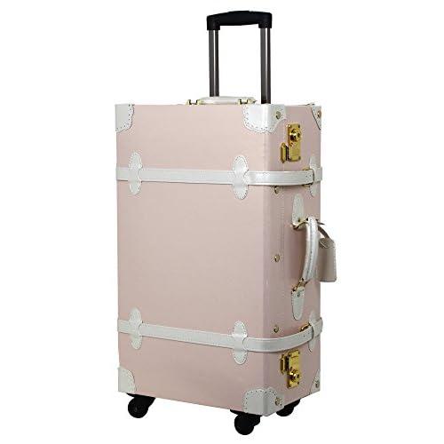 (シフレ)SIFFLER Siffler スーツケース C8342T-57 EURASIA 57cm ピンク/ホワイト