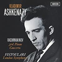 Rachmaninov: Piano Concerto No.3 by Vladimir Ashkenazy (2012-07-28)