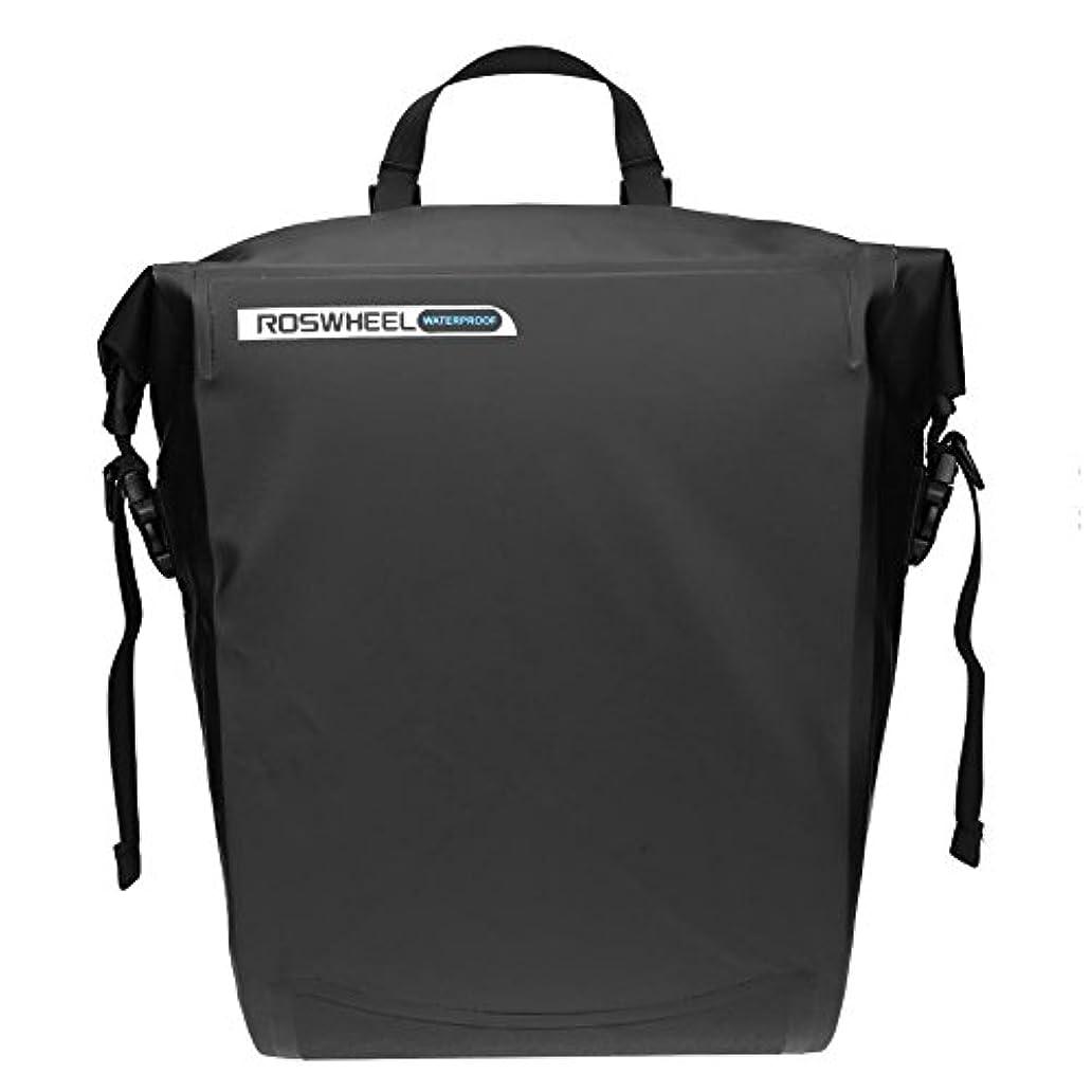 医薬医薬パラシュートROSWHEEL自転車ラックバッグ防水マウンテンバイクトランクリアシートバッグ