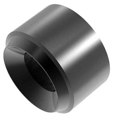ハイキューパーツ ツインパイプ2 ブラック3.0mm 10個入