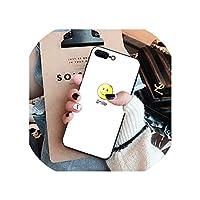 ガラスケースiPhone X XS MAX XR 6 6S 7 8 Plus電話ケース強化ガラス大理石花柄カバーiPhone XS Max,NO.14,for iphone 8 plus