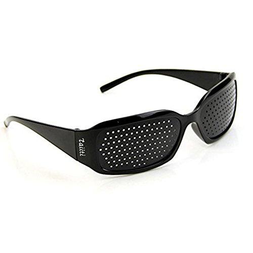 ピンホールメガネ 視力回復 【近視 遠視 老眼 乱視の改善】 フリーサイズ ...
