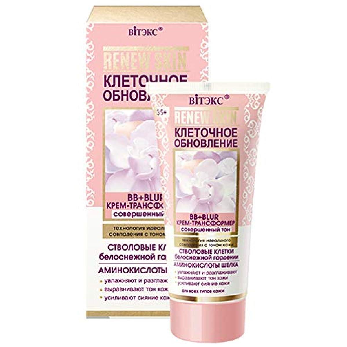 コンピューターを使用するすぐに月面Bielita & Vitex   RENEW SKIN   BB + BLUR CREAM-TRANSFORMER   Perfect tone technology of perfect match with skin...