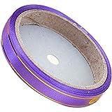 6 DIYパーティー装飾リボンバルーンカーリングリボン用品のセット[紫の]