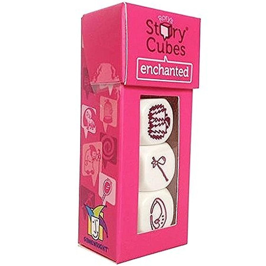 拒絶地質学ボクシングGames - Ceaco Gamewright - Rory's Story Cubes Enchanted Kids New Toys 330-2