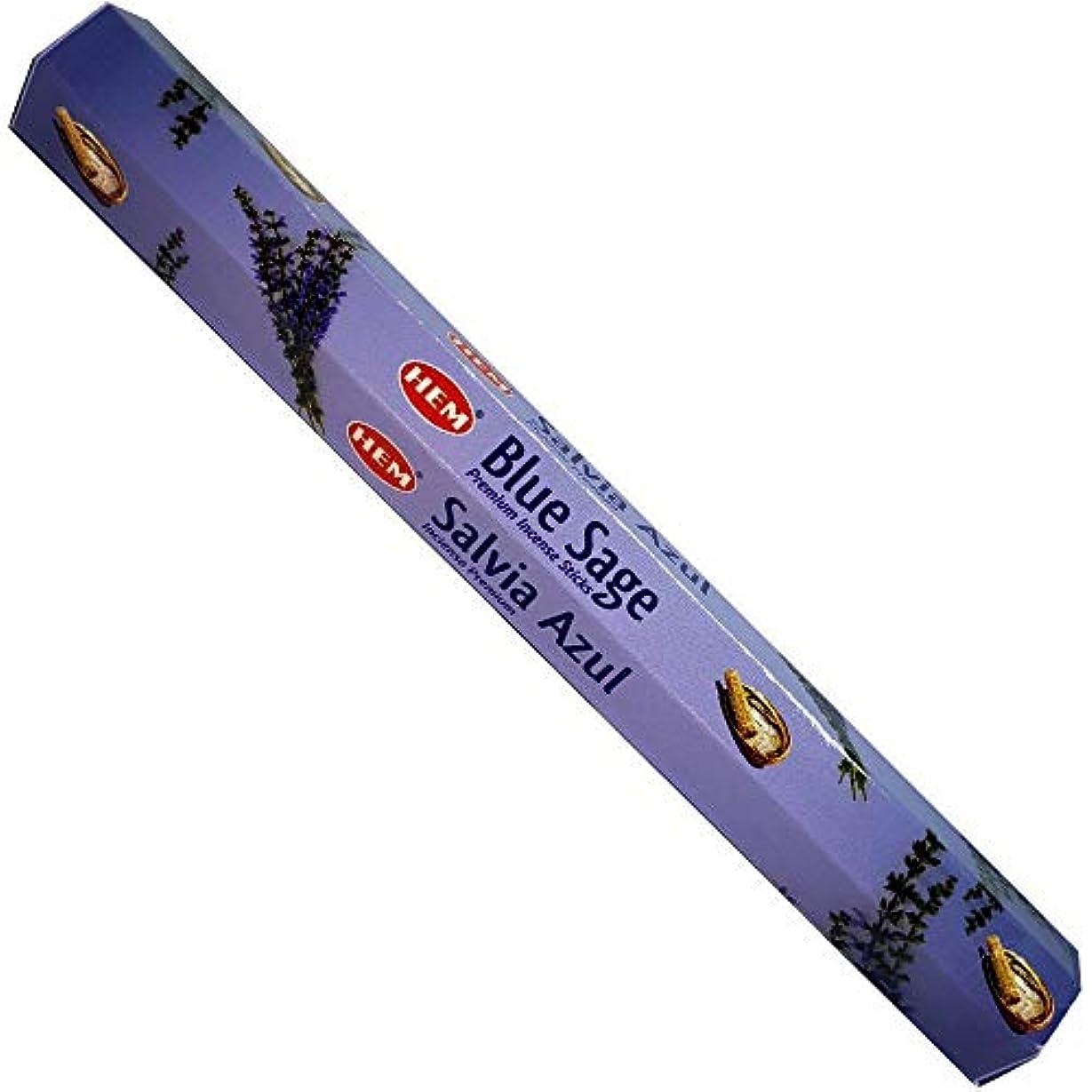 軸幾何学データム裾ブルーセージBest Seller Incense Bulk 6 x 20スティック( 120 Sticks ) by 4quarters & More