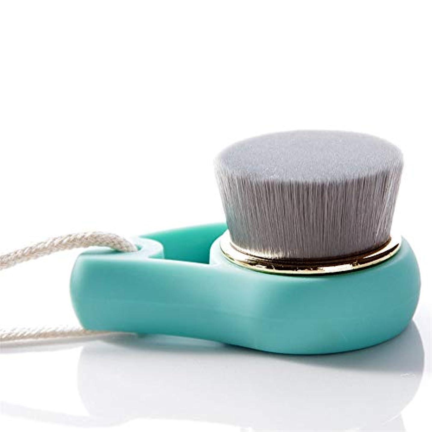 軽量形式少年洗顔ブラシ ソフト剛毛フェイスクリーニング美容ブラシ女性のクレンジングブラシ ディープクレンジングスキンケア用