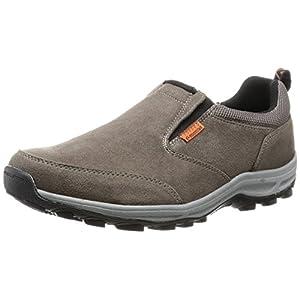 [ムーンスター] 防水 スリッポン スニーカー 靴 幅広 4E 抗菌防臭 SPLT M157 メンズ チャコール