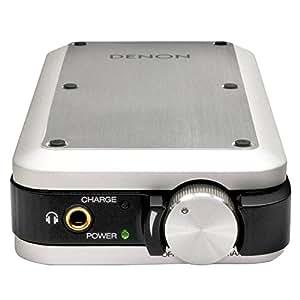 DENON ポータブルヘッドホンアンプ USB-DAC搭載 ハイレゾ音源対応 プレミアムシルバー DA-10SPEM