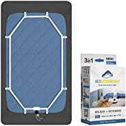 BED SCRUNCHIE Bed Sheet Holder Mattress Straps w/ Strong Gripper Sheet Clips for Bedding – 360 Degree Parachut